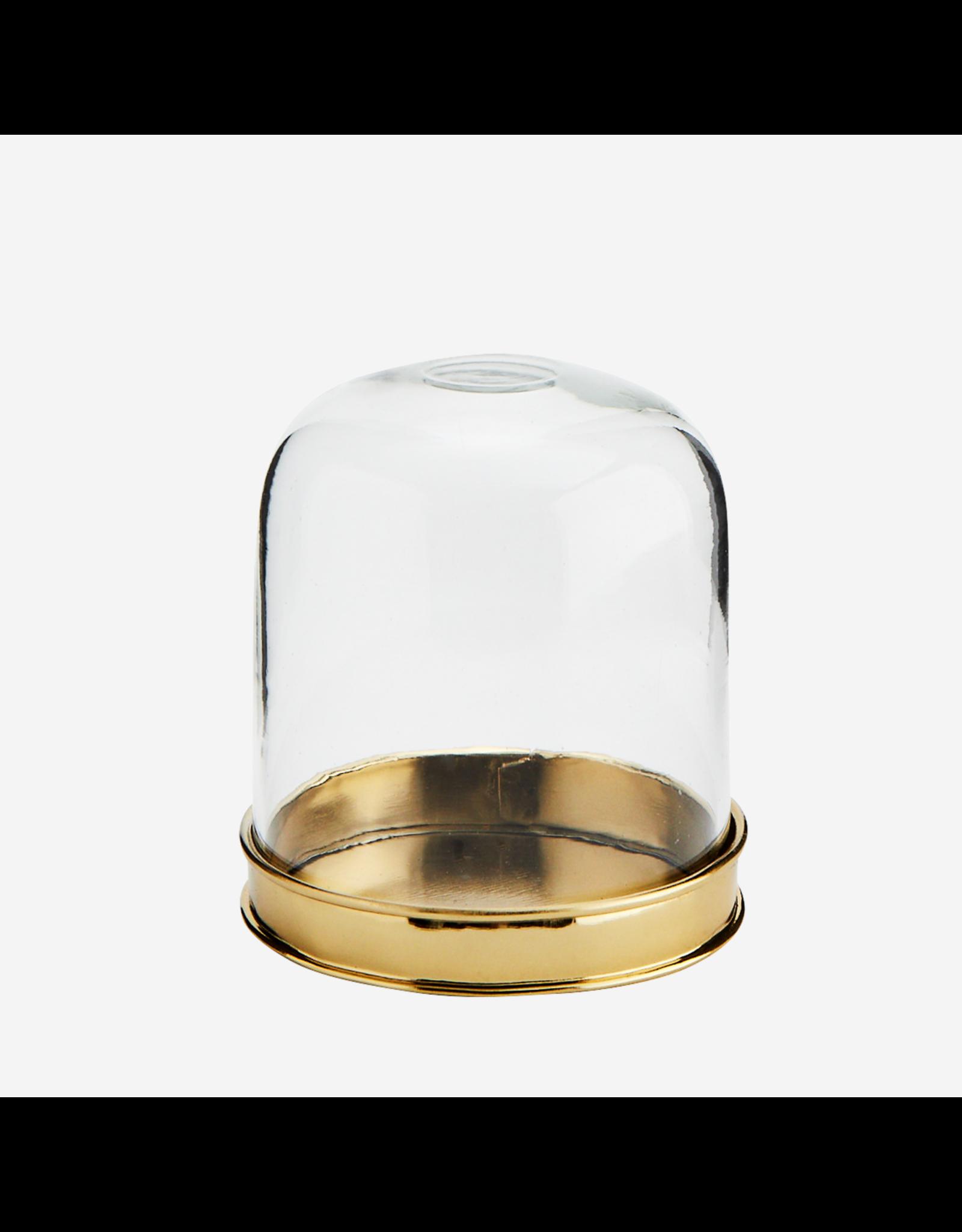 Madam Stolz Stolp glas met gouden bodem