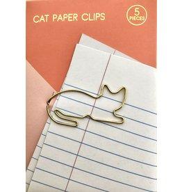 paperclip kat goud
