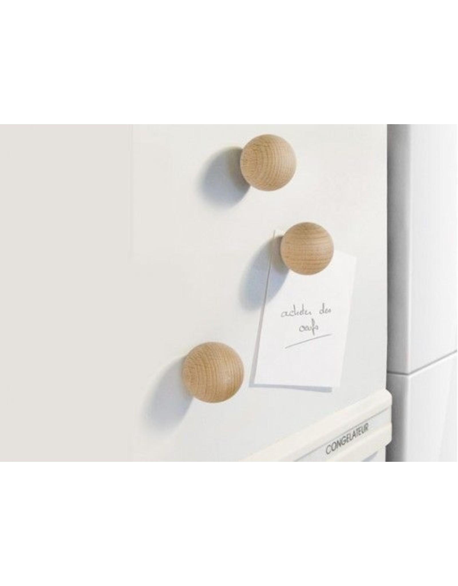 magneet houten bol