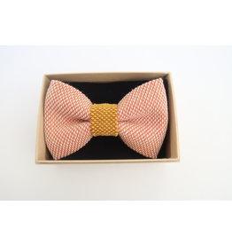 yumibow strik roze/geel