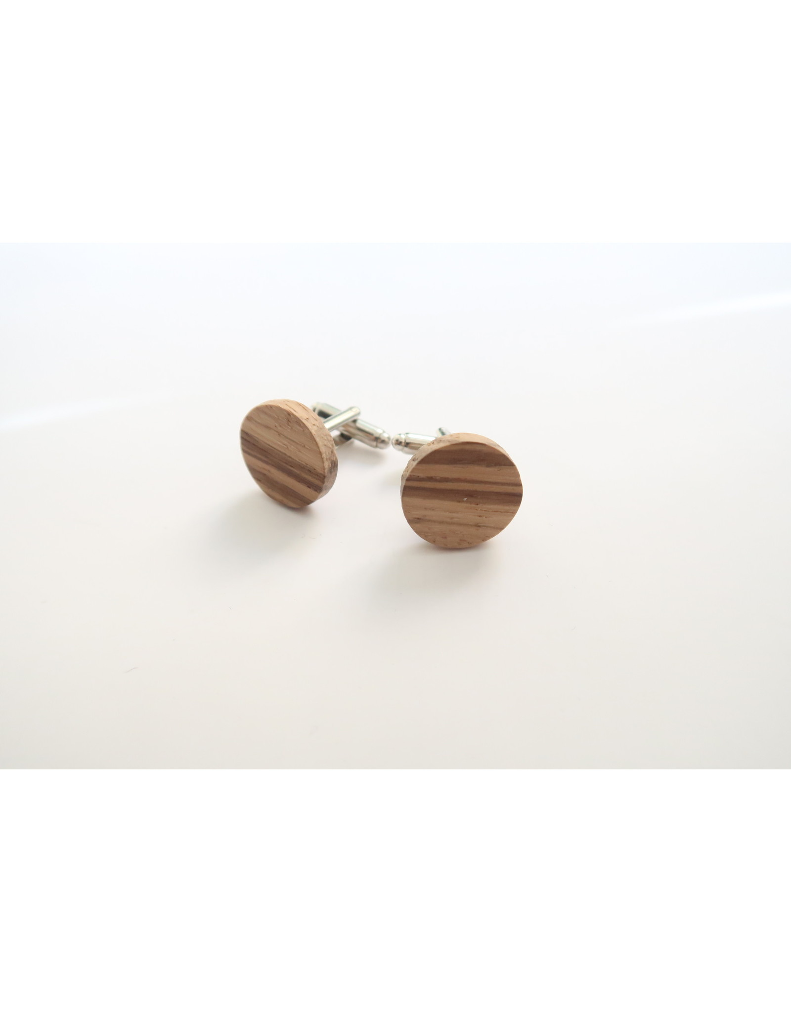 manchetknopen hout zebrano