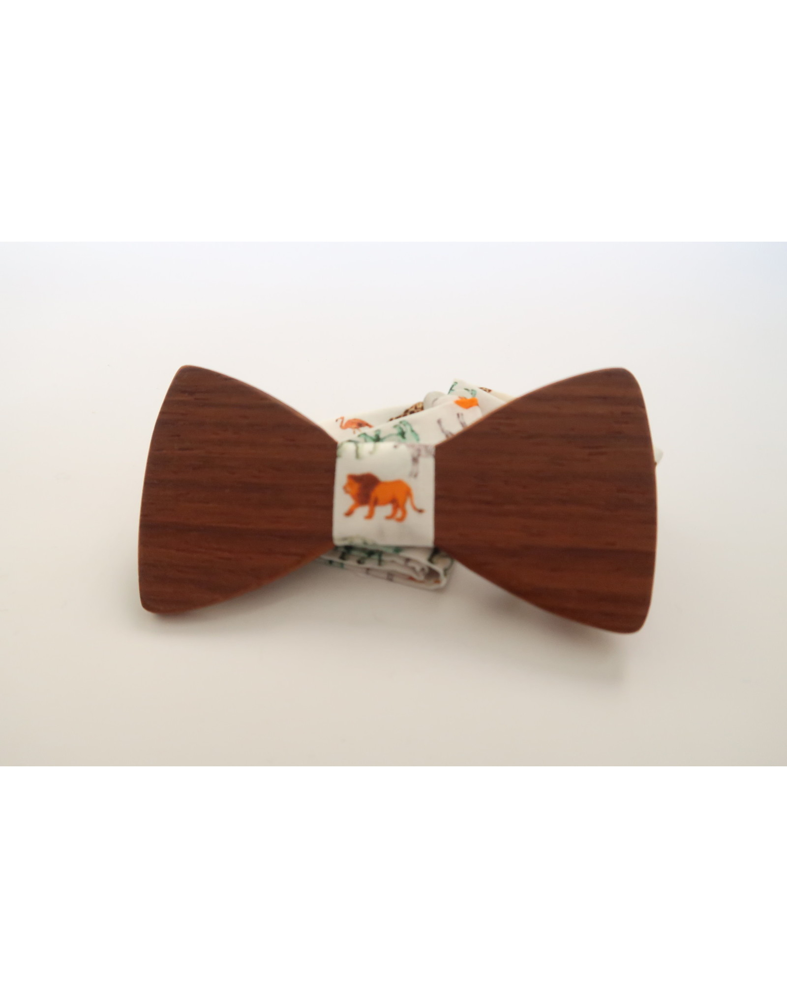 manchetknopen hout padoek