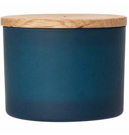 Raeder Geurkaars anker blauw 'oceaanfris' D:12cm H:6cm