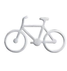 Raeder broche fiets zilver