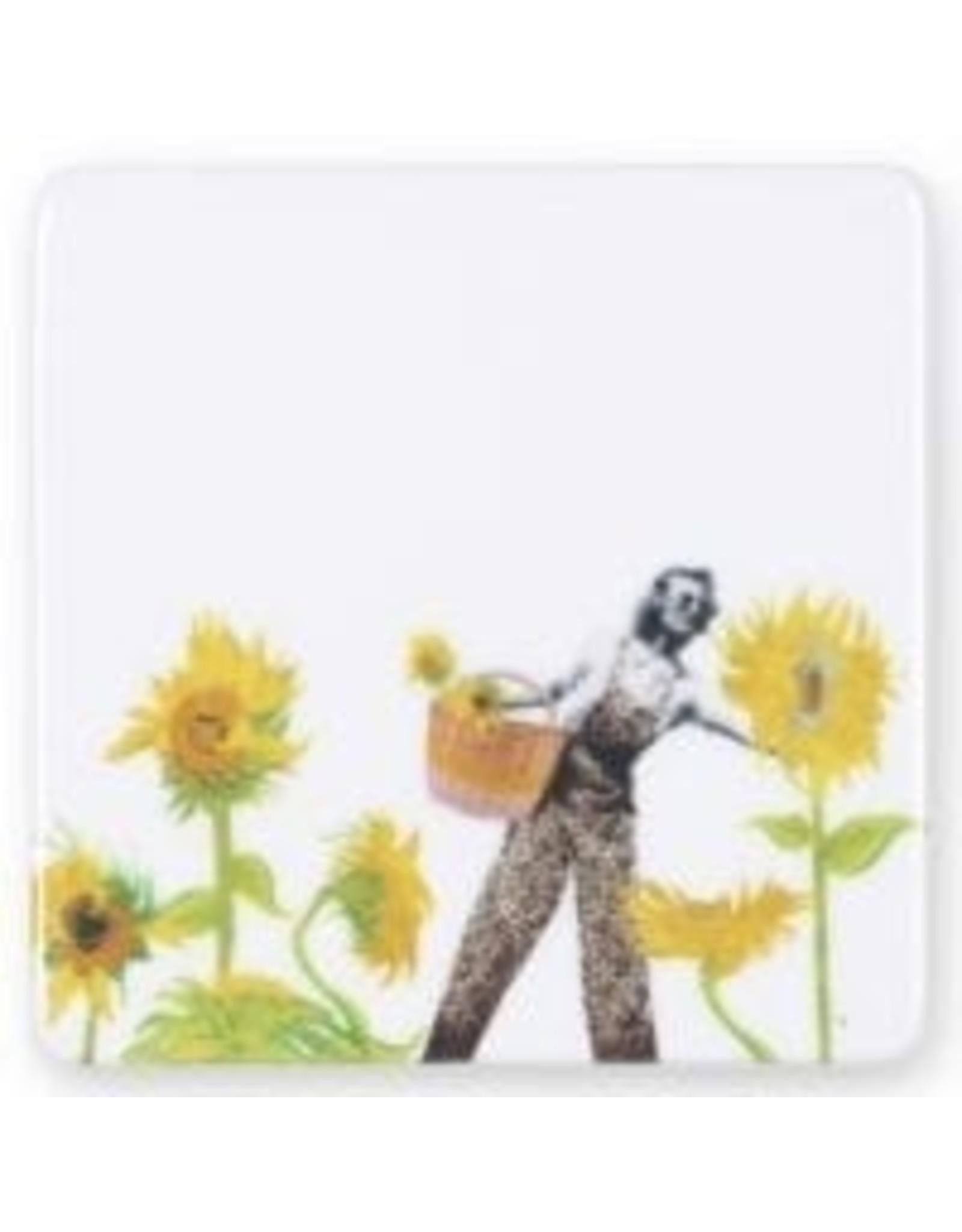 Storytiles Mini tegel/ magneet Flower power
