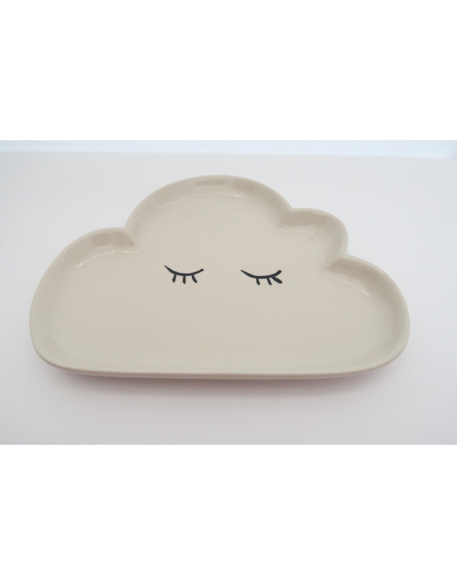 Bloomingville bord wolk groot beige