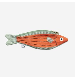 Don Fisher Ritstasje - Fusillier - Oranje - 100% Katoen - 6 x 18 cm