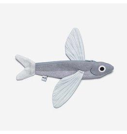 Don Fisher Ritstasje - Vliegende Vis - 100% katoen - 21,5 x 11 cm