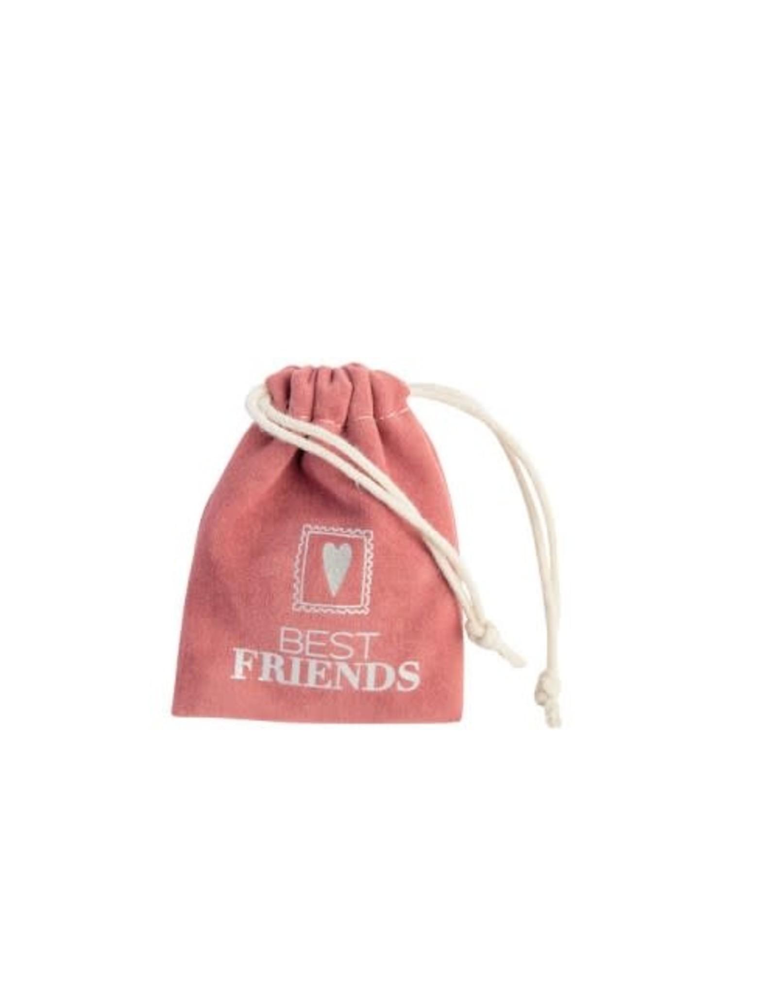 Raeder Small pocket companion Best Friends (roze)