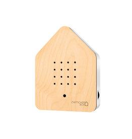 Zwitscherbox - Relaxounds Zwitscherbox Esdoorn - Geluiden: vogelgezang van de Merel - Geluidsduur: 2 min - Geactiveerd door een bewegingsdetector - 3 AA-batterijen inbegrepen - B 11 x H 14,5 x D 3,5 cm - Ideaal voor: badkamer, gastentoilet, entree, gang, kantoor,...