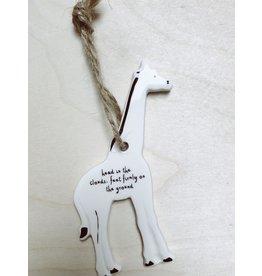 Sent and Meant Hanger Giraf - Porselein