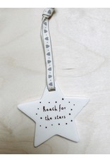 Sent and Meant Hanger - Porselein - Reach for the stars