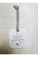 Sent and Meant Hanger - Porselein - Moon