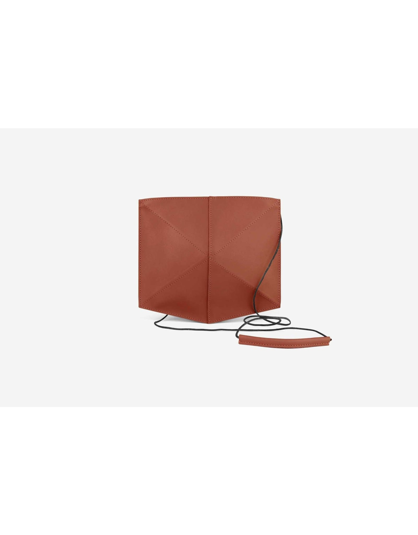 Zand-erover Shoulderbag | Mini Fold | Terracotta