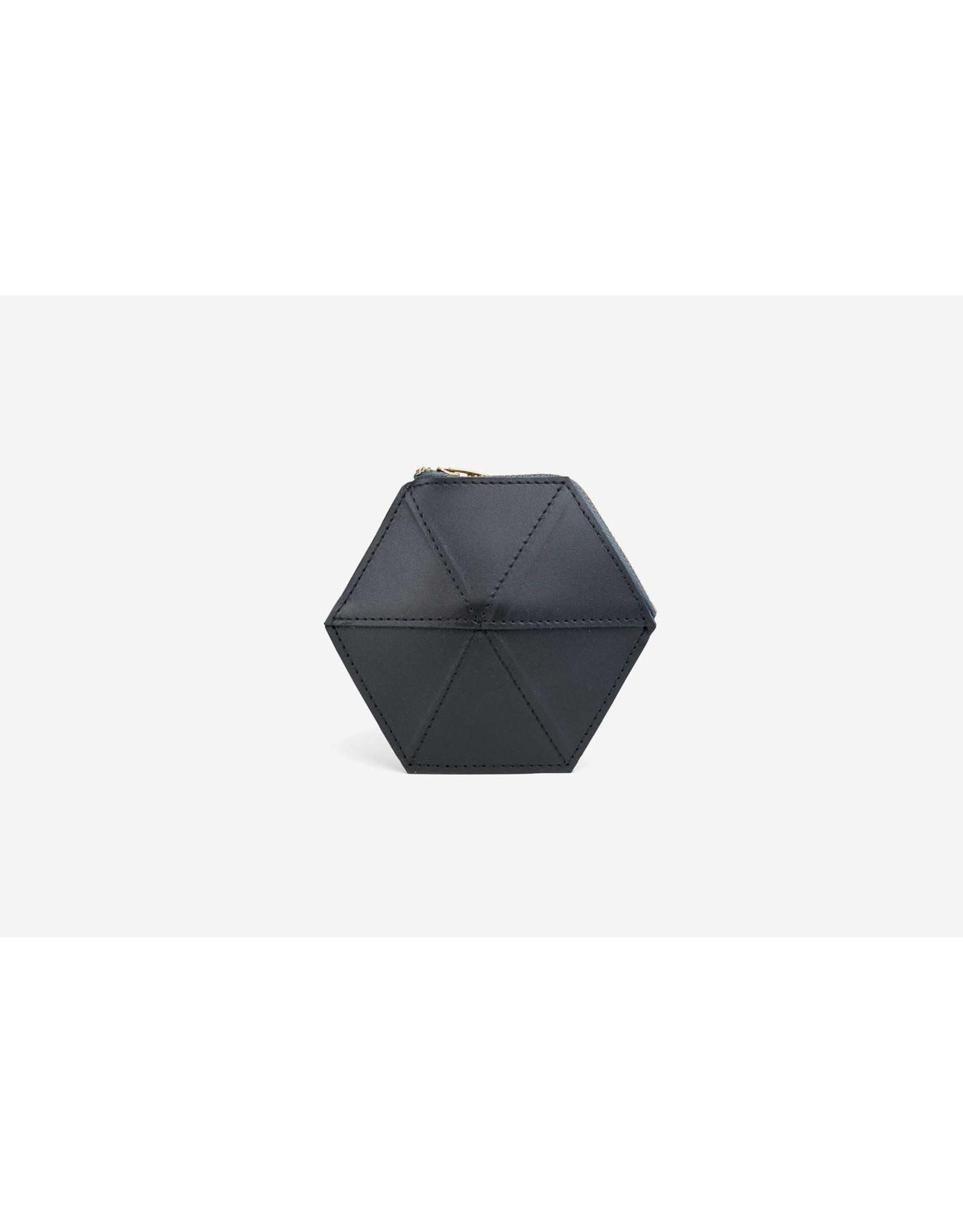 Zand-erover Coin case | Mini Fold | Zwart