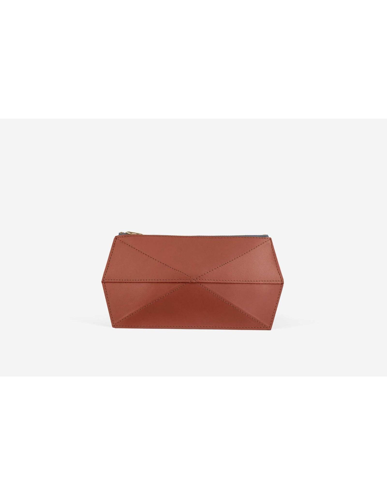 Zand-erover portemonee 3D case | Mini Fold | Terracotta