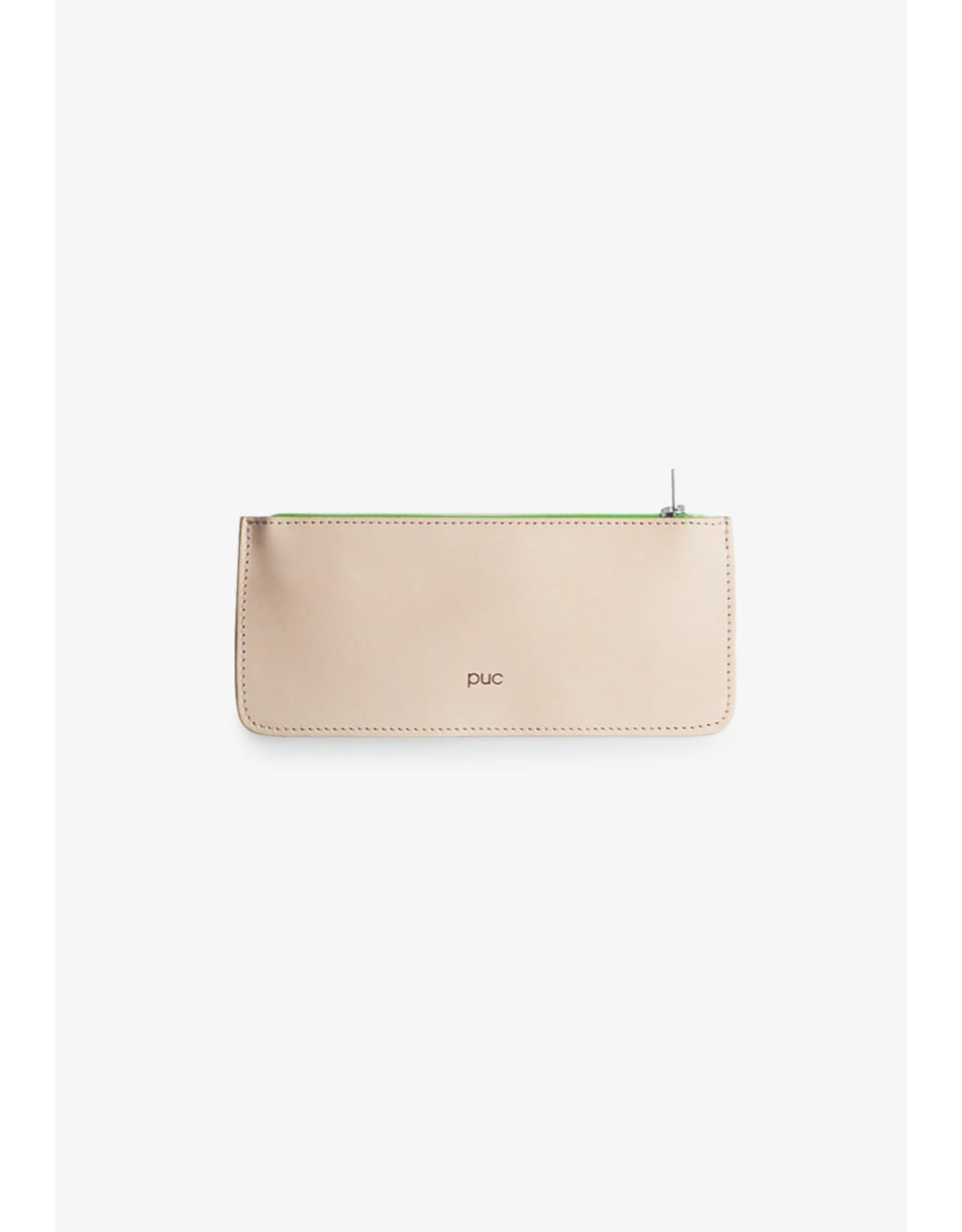 Puc Creative | Nude | Fluor green | 19 x 8,5 cm