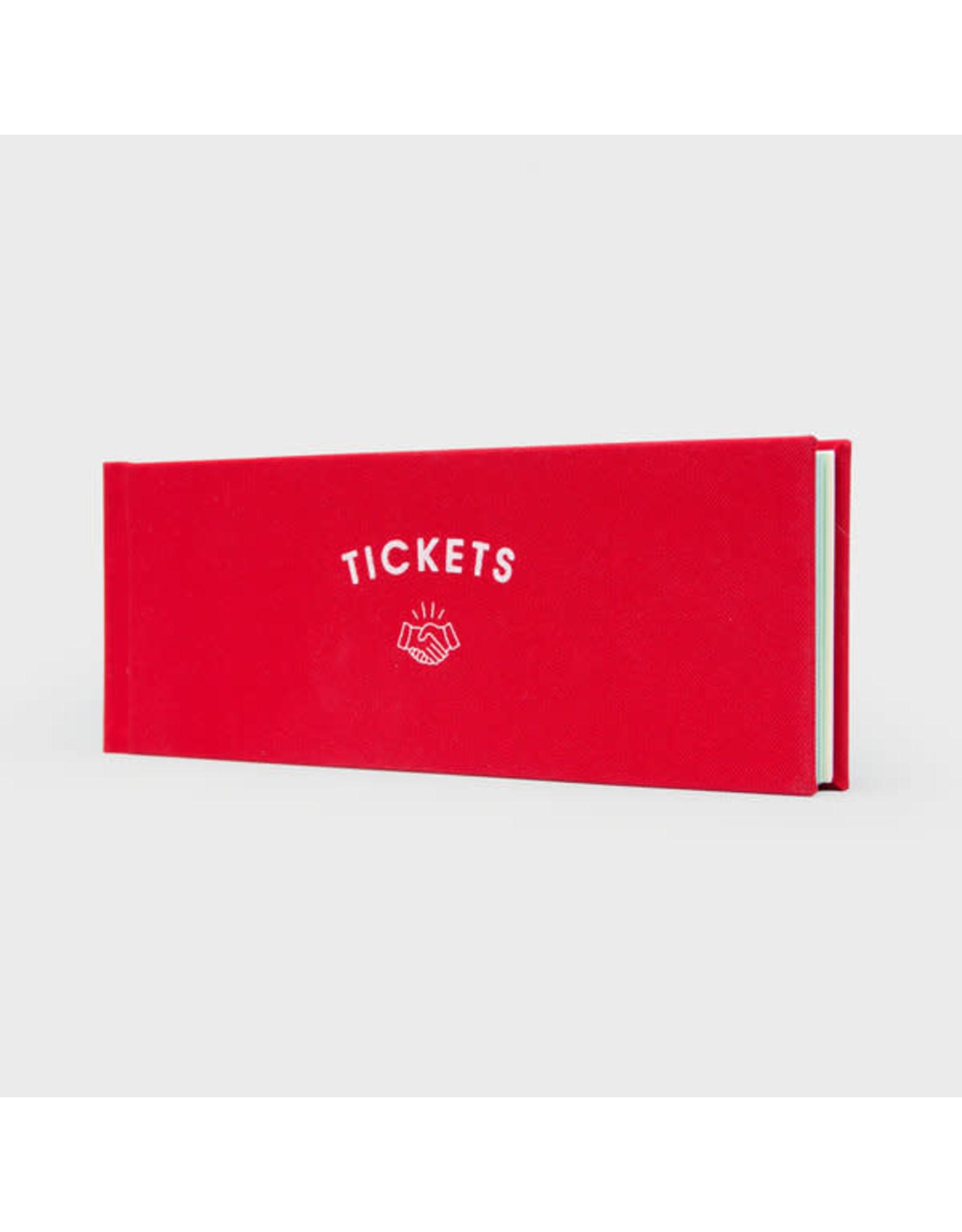 Suck UK Blank Ticket Book