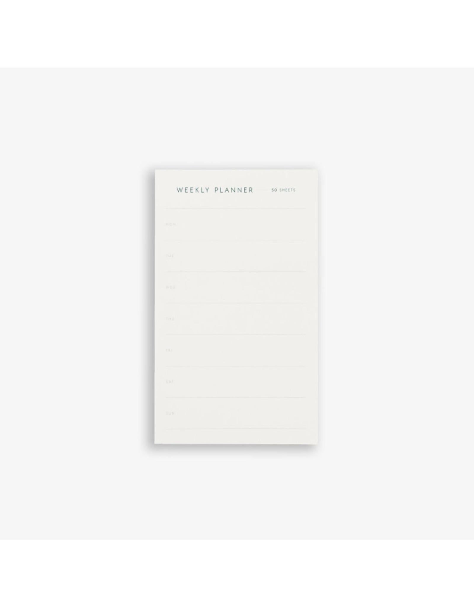 Kartotek Weekly Planner | 9,5 x 15 | 50 vellen