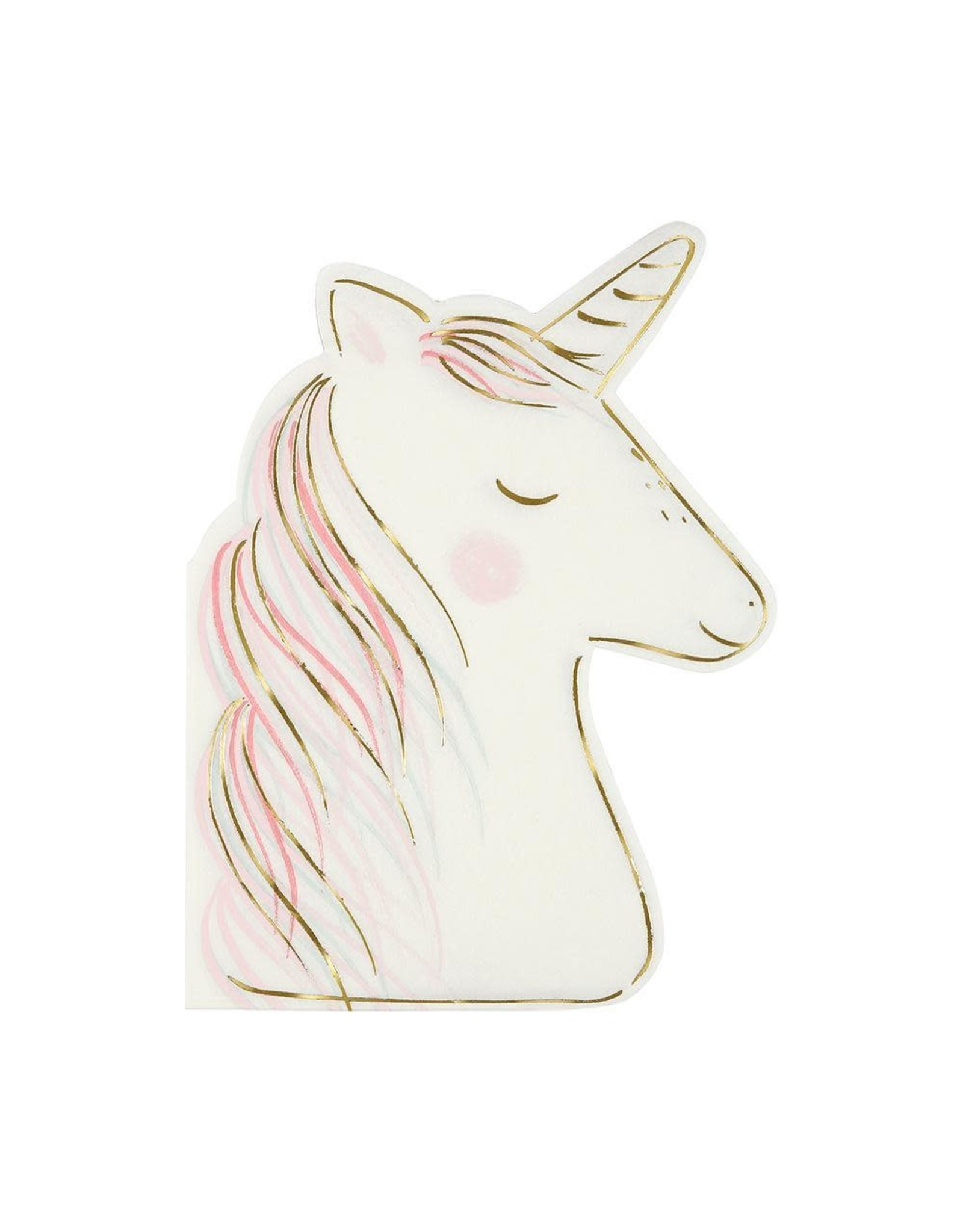 Meri Meri Serviettes | Unicorn | 16st | 10 x 13 cm