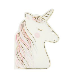Meri Meri Servetten - Unicorn - 16st - 12,7 x 18,1 cm