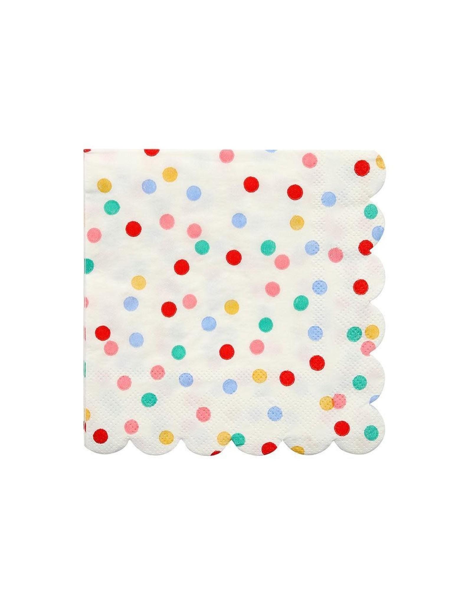 Meri Meri Serviettes | Confetti | 16st | 10 x 10cm