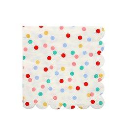 Meri Meri Serviettes | Confettie | 16st | 10 x 10cm