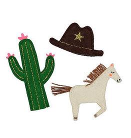 Meri Meri Finger puppets   Cowboy   3st