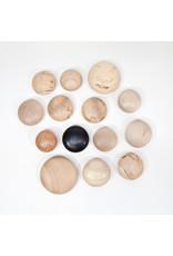 Suzan Doornbos Troosthout | zwart met cirkel | 5 x 5 x 3 cm