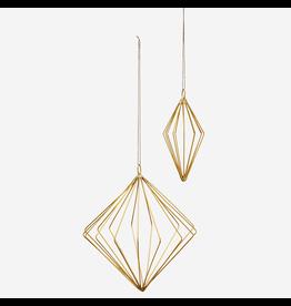 Madam Stolz Hanger Diamant- Goud- Klein