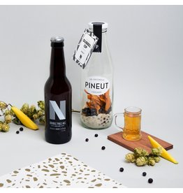 Pineut Dubbel op | mango, jeneverbes | Double pale ale