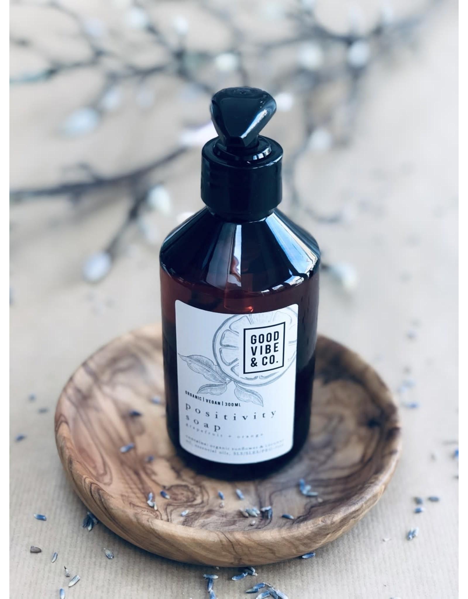 Good Vibes Eco zeep | Positivity | orange, bergamot, sandalwood | 300ml
