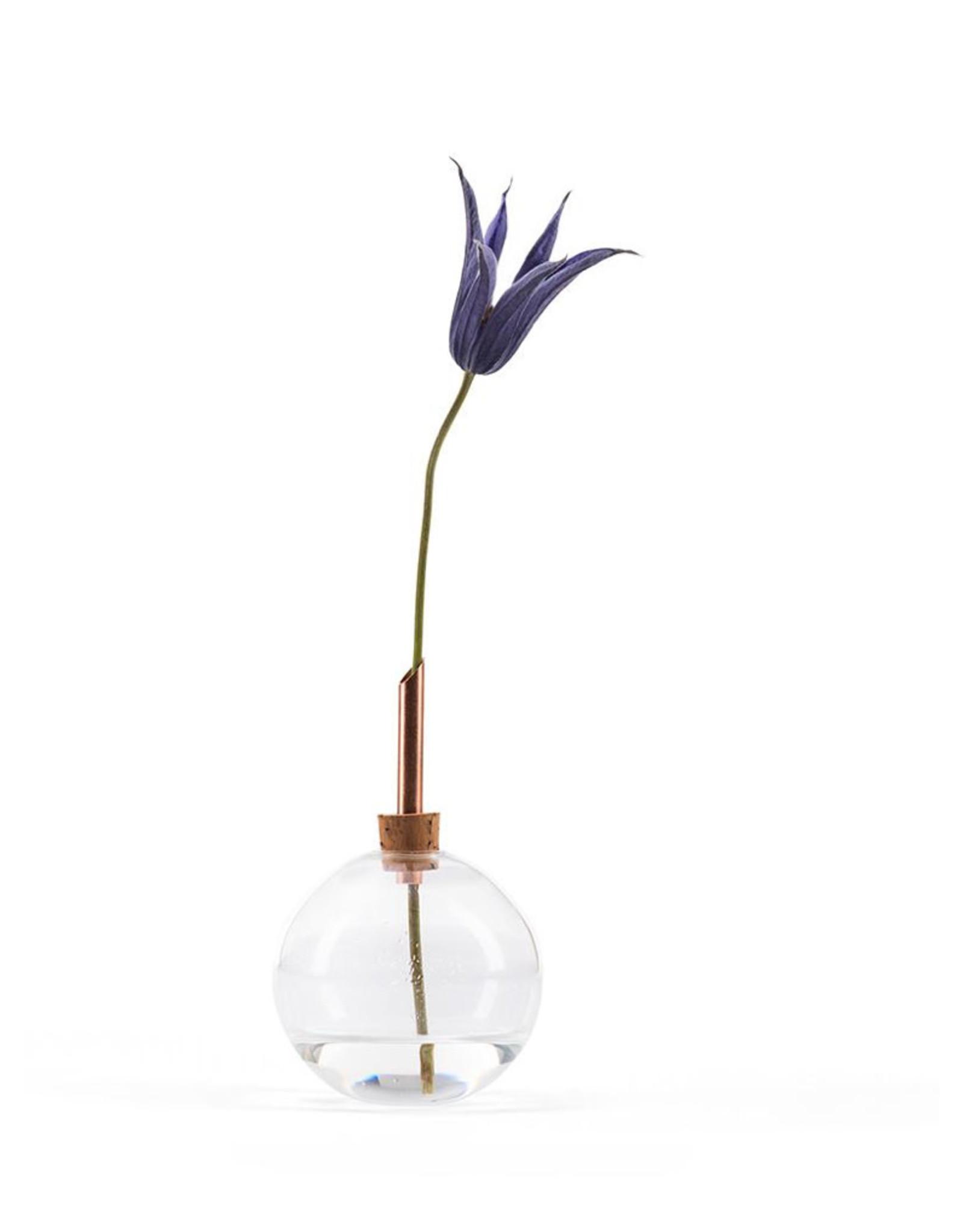 Scandinavia Form Vase Glasilium   Transparent   D6,5 x H11 cm