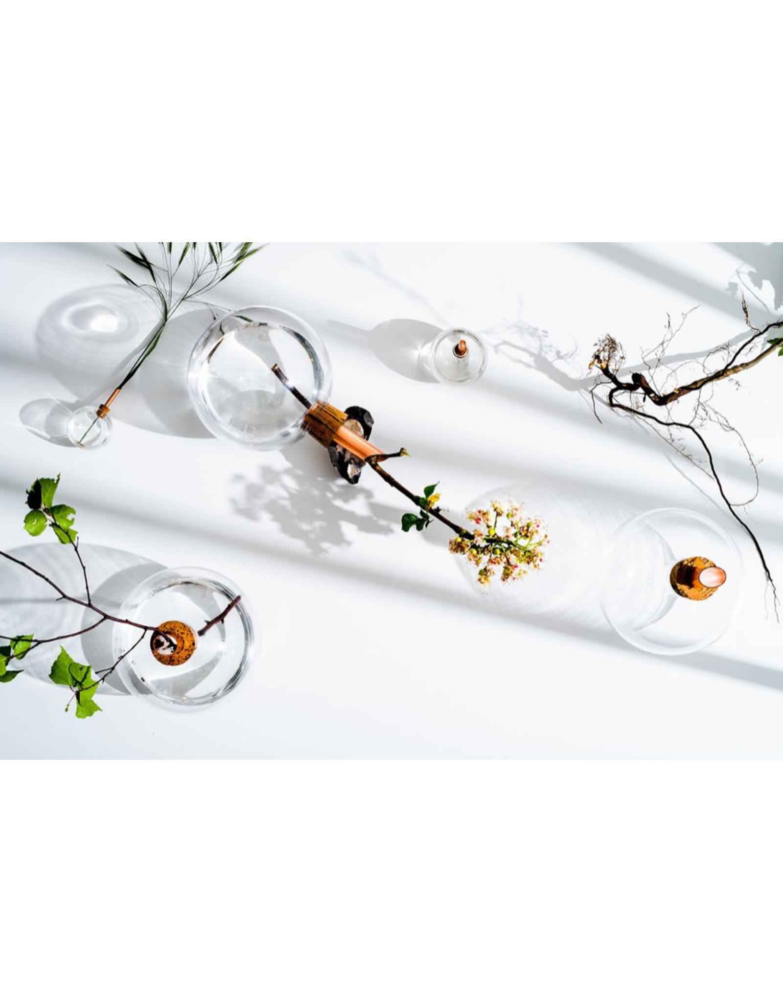 Scandinavia Form Vase Glasilium | Transparent | D12 x H14,5 cm
