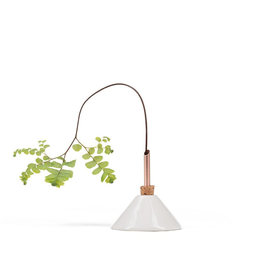 Scandinavia Form Vase Consilium | Snow White | D7 x H7,5cm