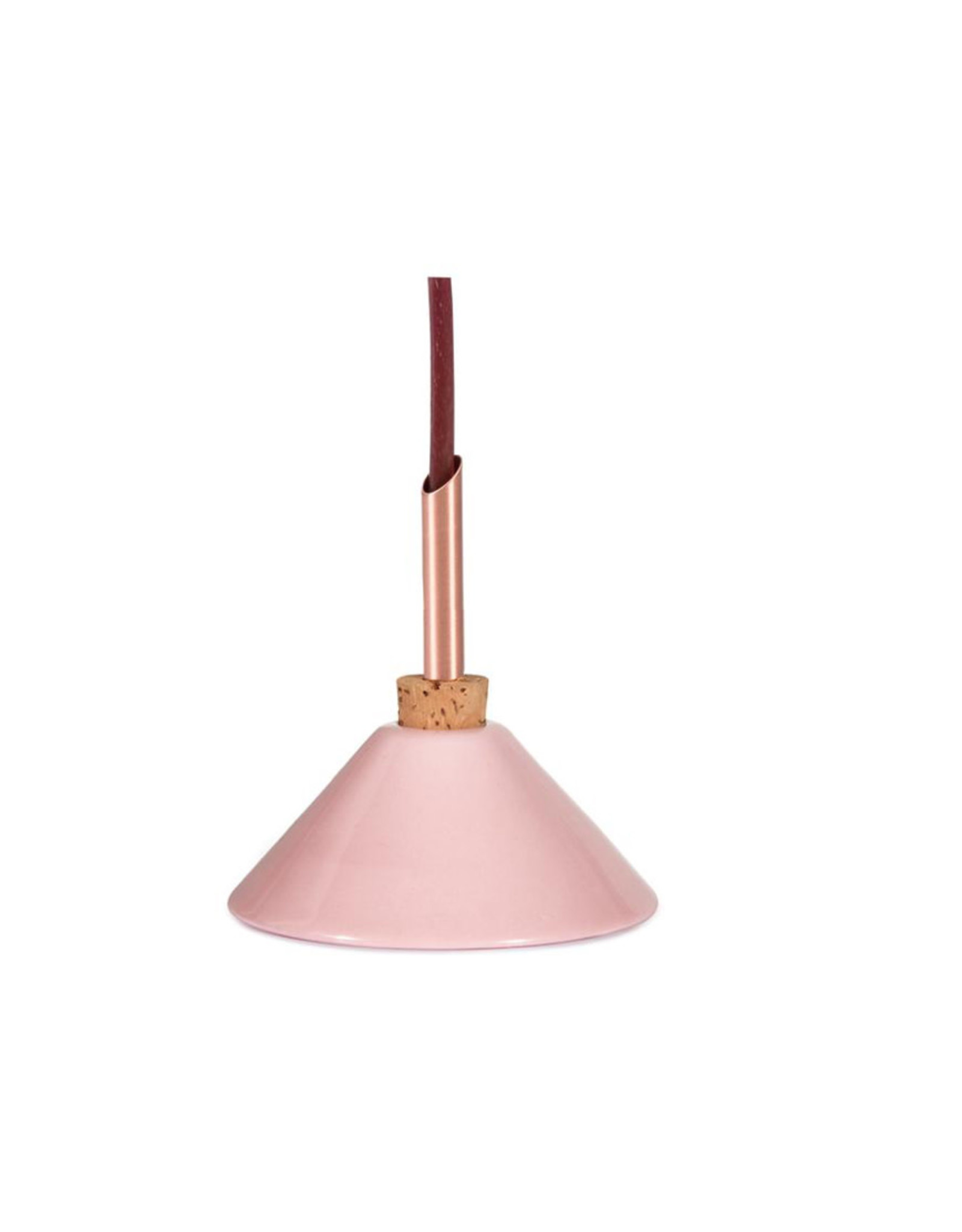 Scandinavia Form Vase Consilium | Pink | D7 x H7,5cm