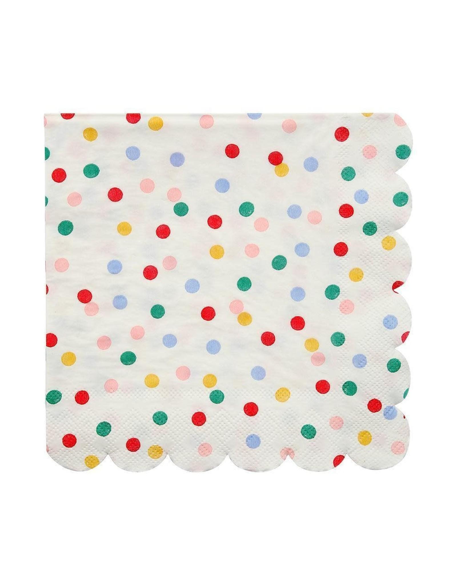 Meri Meri Serviettes | Confetti | 16st | 13 x 13cm