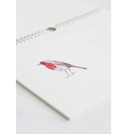 Inkylines Verjaardagskalender - Vogels