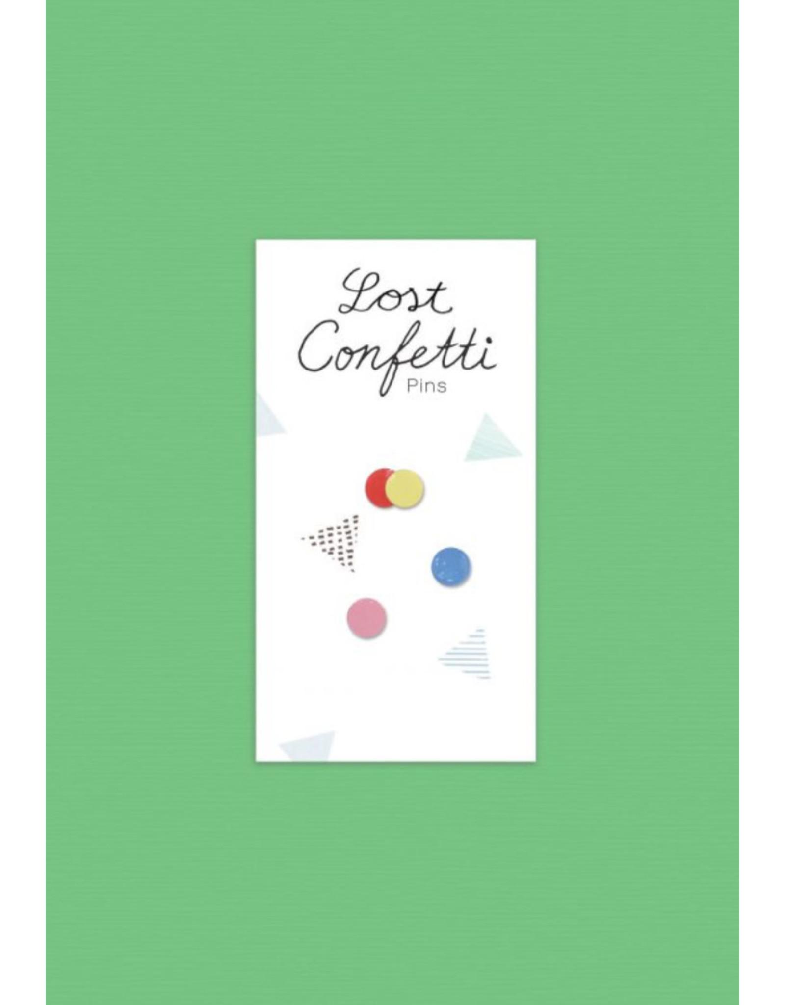 Stook Lost Confetti Pin