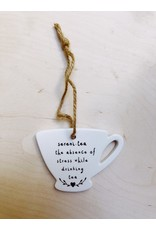 Sent and Meant Hanger Tas - Sereni.tea - Porselein