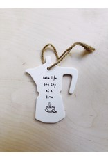 Sent and Meant Hanger - Porselein - Koffiepot - One cup