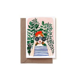 Reddish Design Wenskaart - Can't wait to see you - Dubbele kaart + Envelope - 10 x 15cm
