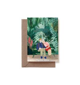 Reddish Design Wenskaart - Together Forever - Dubbele kaart + Envelope - 10 x 15cm