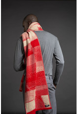 Wolvis Wolvis - 20th of December 2019 - Nude and Bright Red - 220cm x 40 - 100% Merino Wool - 100% made in Belgium