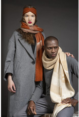 Wolvis Wolvis - September - Cognac   - 25cm x 10cm  - 100% Merino Wool - 100% made in Belgium
