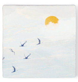 Storytiles Tegel - Achter de schijnt de zon