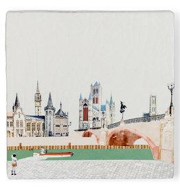Storytiles Tegel - Good old Ghent