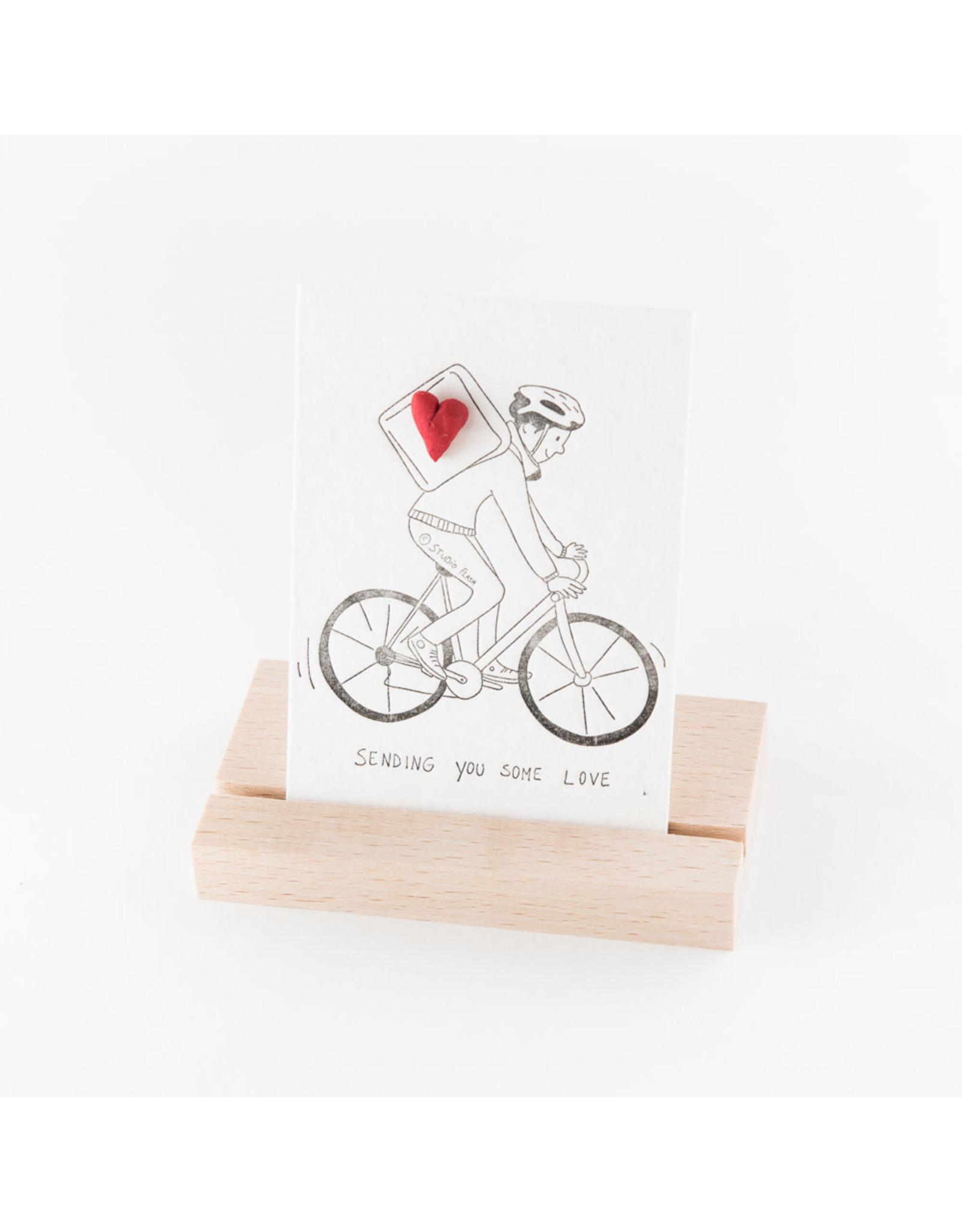 Studio Flash Pin - Biker