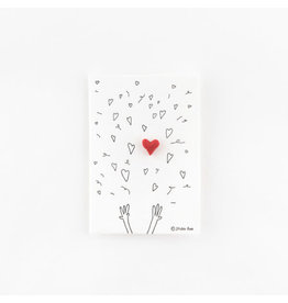 Studio Flash Pin - Hearts Confetti