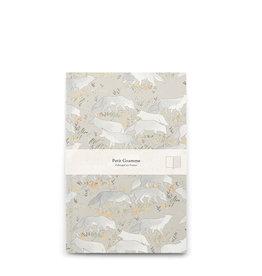 Petit Gramme Schriftje - Wolf - 14 x 21 - lijntjes